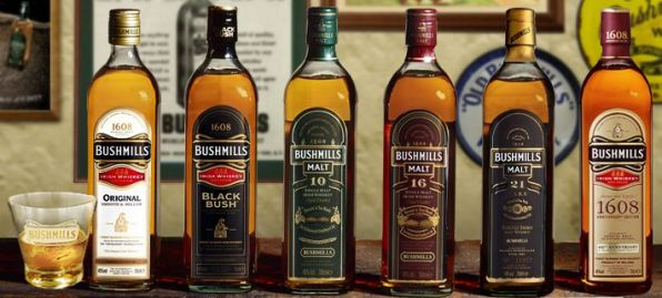 Irish Whiskey Brands-Bushmills