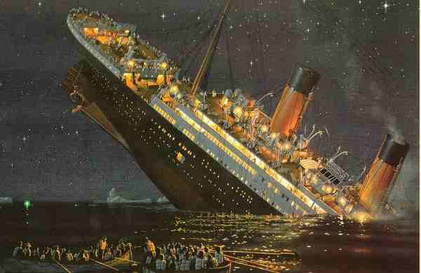 an outline retrospect of the titanic sinking disaster Ship cartoons and comics ship cartoon 1 of 1099  'in retrospect,  sinking ship, sinking ships, abandon ship,.
